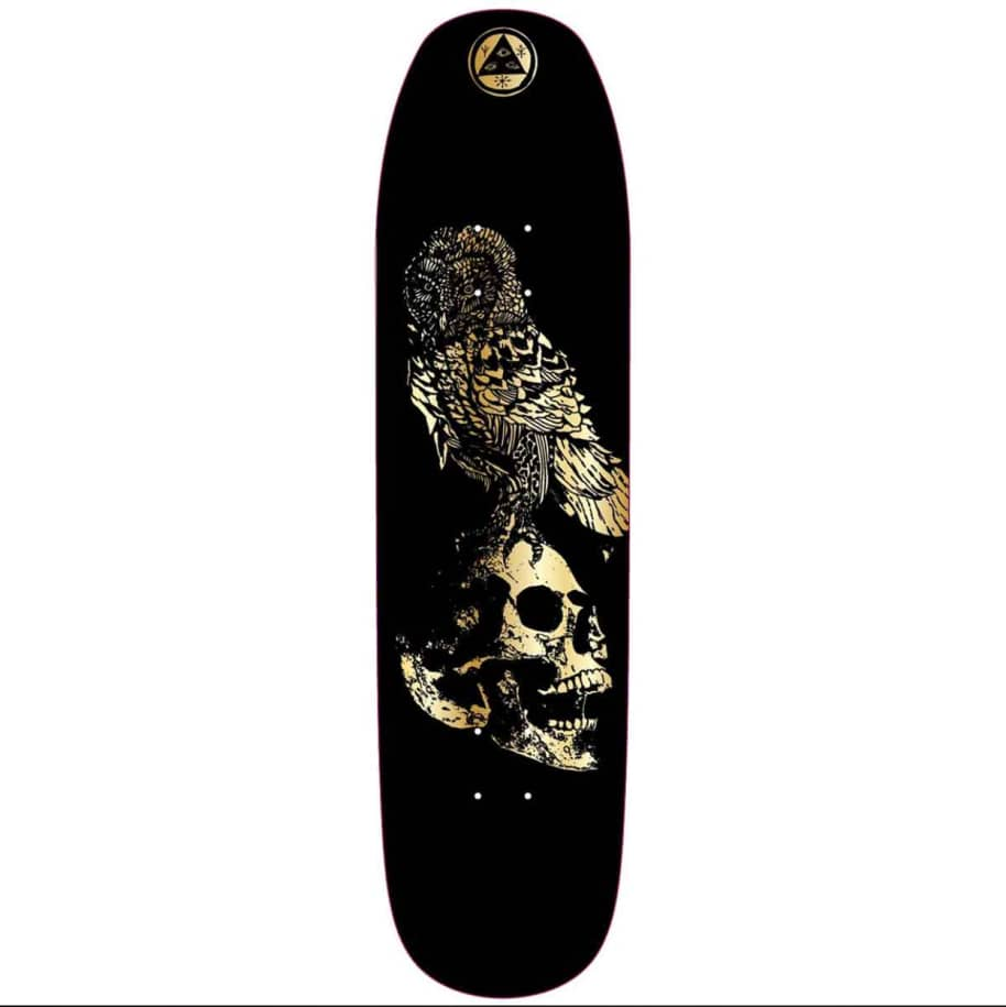 """Welcome - Bird Brain On Son Of Moontrimmer Deck (8.25"""") 