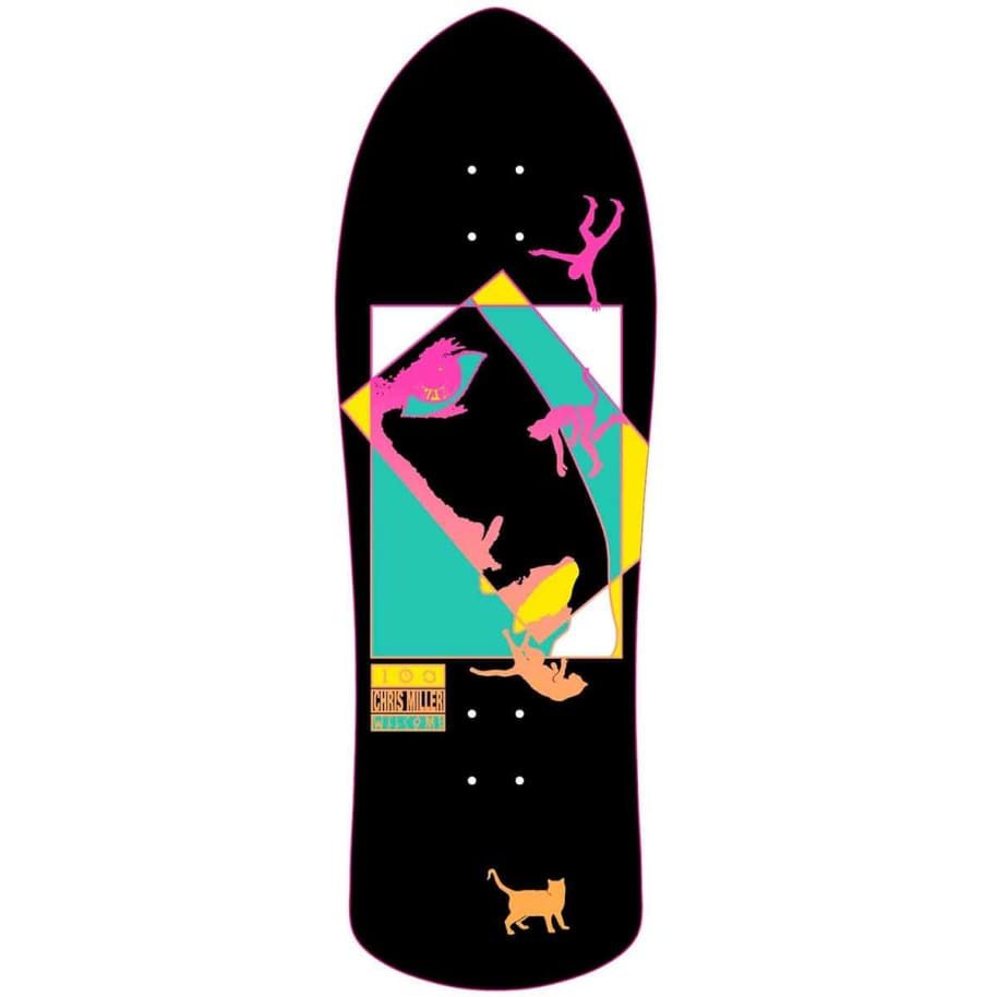 """Welcome - Miller Faces On Crossbone Deck (10"""")   Deck by Welcome Skateboards 1"""
