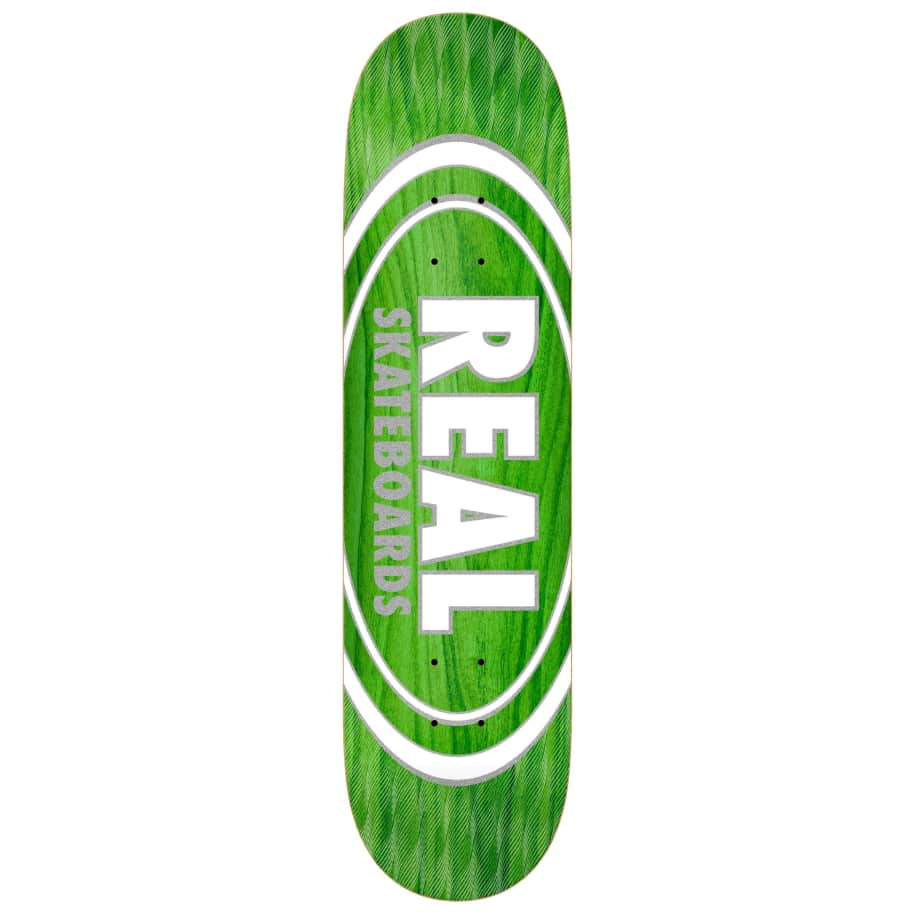 """Real Oval Pearl Patterns Deck 8.5""""   Deck by Real Skateboards 1"""