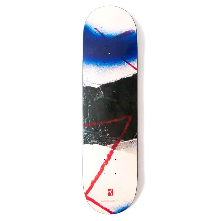 """Poetic Collective Collage #1 Skateboard Deck - 8.0"""" 