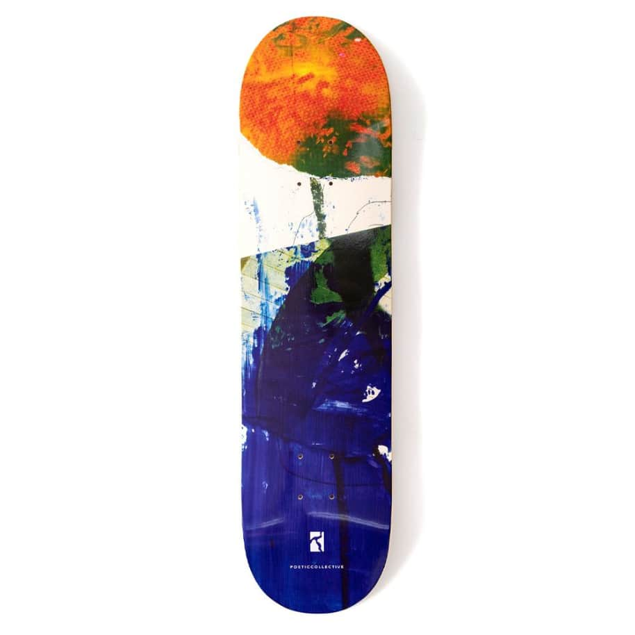 """Poetic Collective Collage #3 Skateboard Deck - 8.5""""   Deck by Poetic Collective 1"""