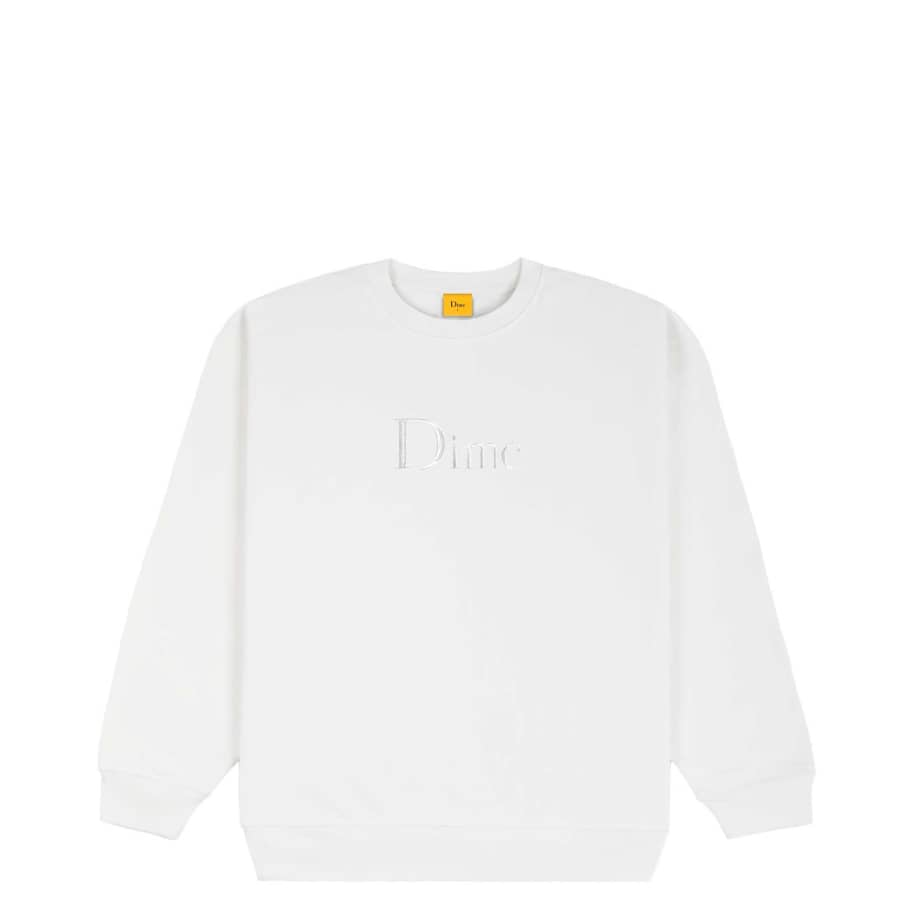 Dime Classic Embroidered Crewneck   Sweatshirt by Dime 1