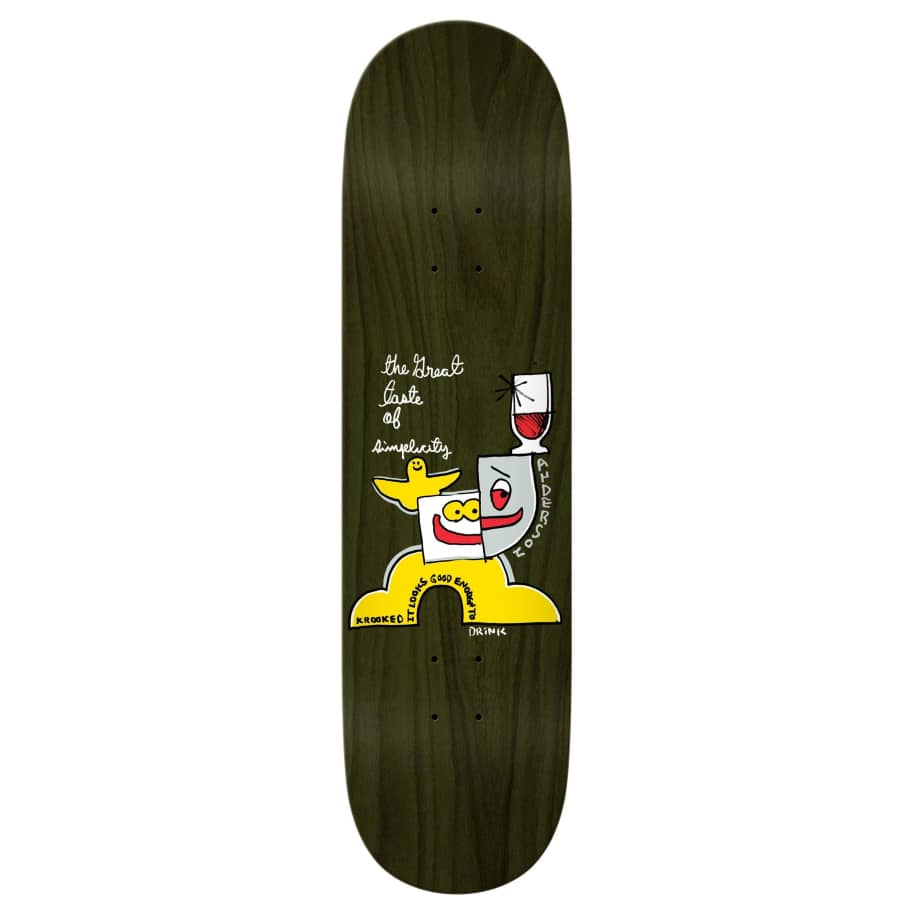 """Krooked Deck Anderson Simplicity 8.38"""" 