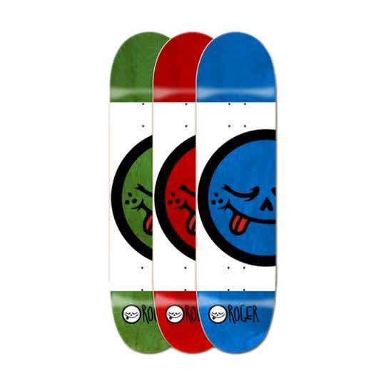 Roger Skate Company Half Roger V3 Deck 8.12 | Deck by Roger Skate Co. 1