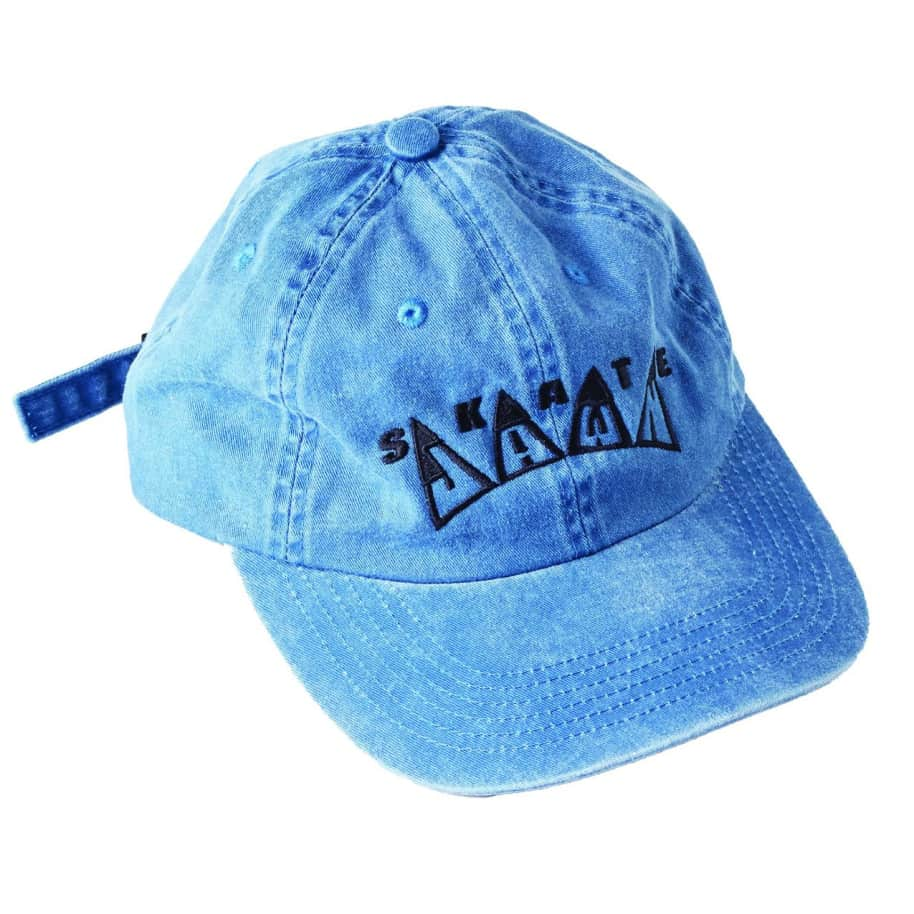 Skate Jawn - Embroidered Hat - Blue   Baseball Cap by Skate Jawn 1