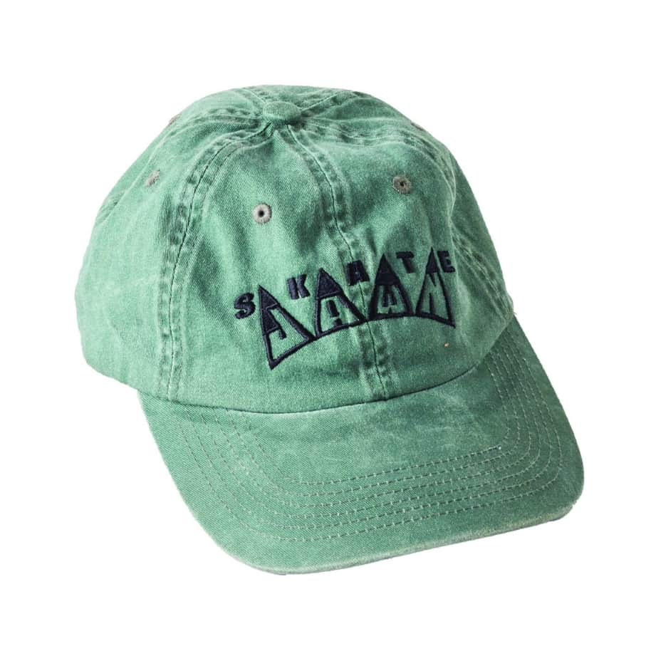 Skate Jawn - Embroidered Hat - Green   Baseball Cap by Skate Jawn 1