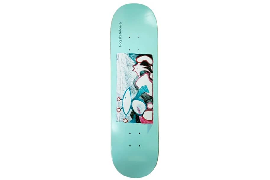 """Frog Extra Help   8.25""""   Deck by Frog Skateboards 1"""