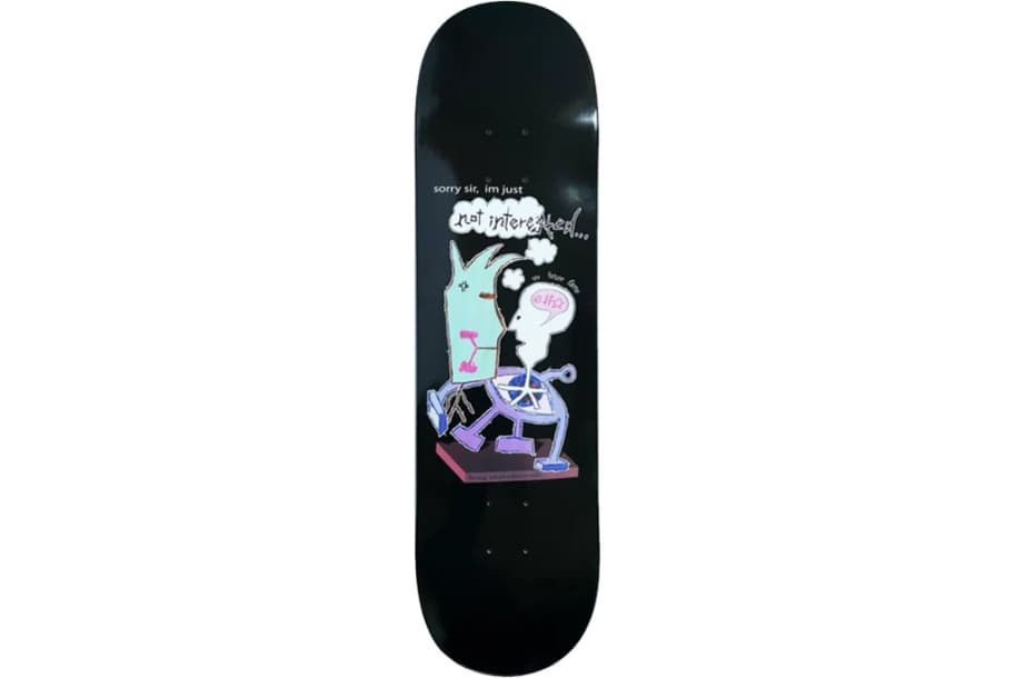 """Frog Pat G Not Interested   8.38""""   Deck by Frog Skateboards 1"""
