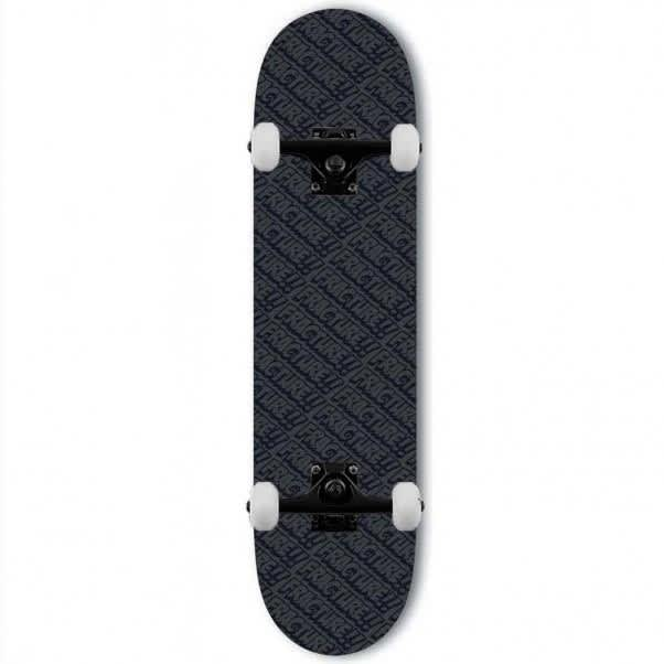 """Fracture Complete Skateboard All Over Comic Black - 8.0"""" 