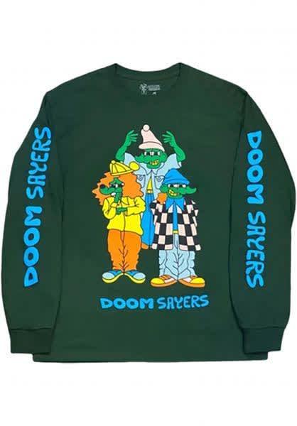 Doomsayers Lil Kool Homies Long Sleeve 'Forest Green' | Longsleeve by Doom Sayers Club 1