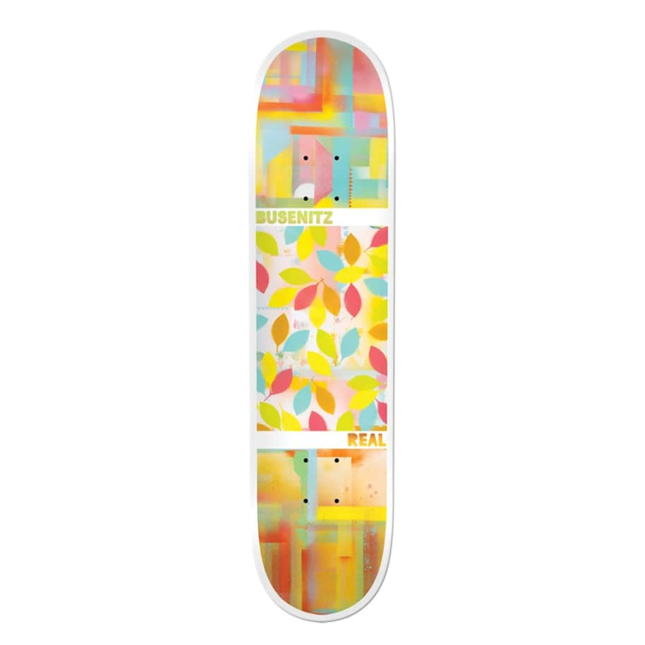 Busenitz Acrylics - 8.06 | Deck by Real Skateboards 1