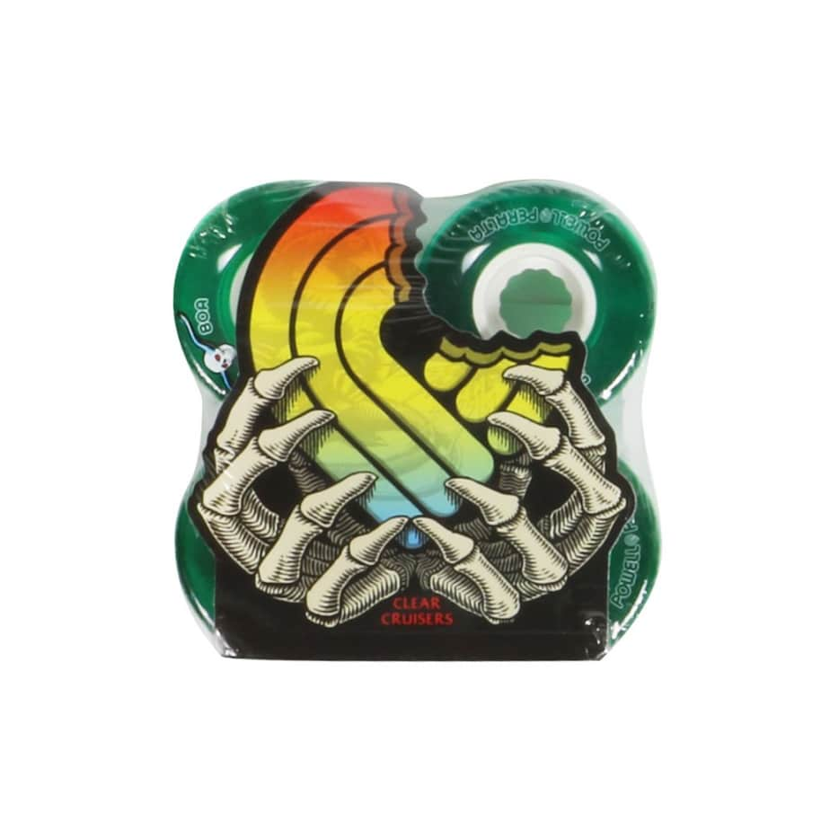 Clear Cruiser 80A Green - 55mm | Wheels by Powell Peralta 1