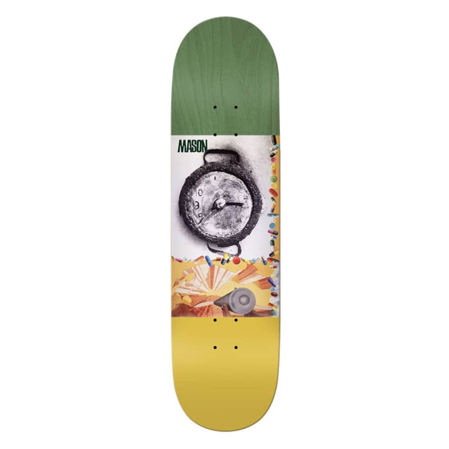 """Mason Boxcar - 8.5""""   Deck by Real Skateboards 1"""