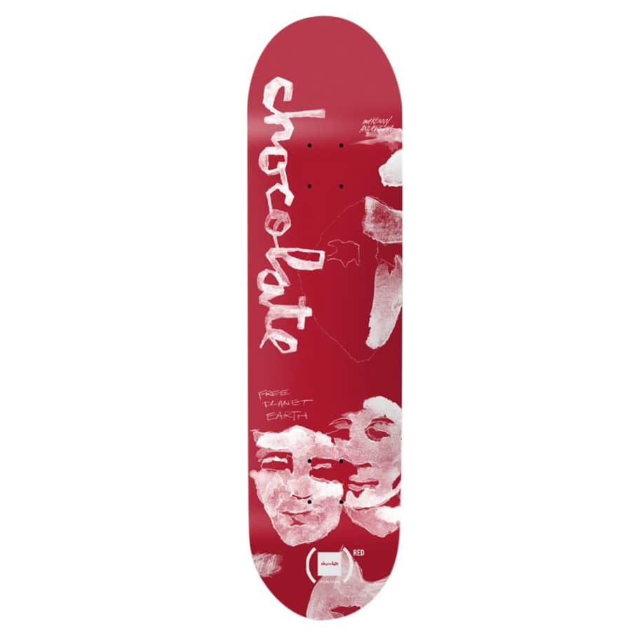 Anderson (Red) - 8.25 | Deck by Chocolate Skateboards 1