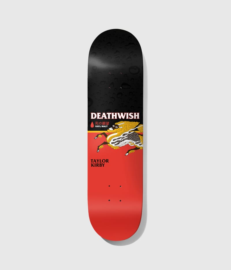 """Deathwish Skateboards Taylor Kirby The Messenger 8.25"""" 