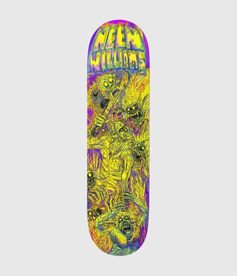 """Deathwish Neen Wiliams Dystopia Deck 8.0"""" 