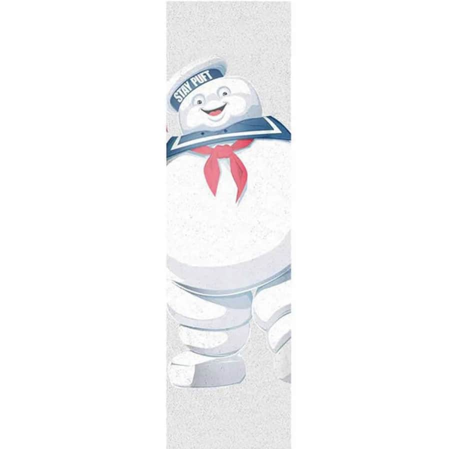 Element X Ghostbusters Stay Puft Graphic Skateboard Griptape Clear 9x33 | Griptape by Element 1