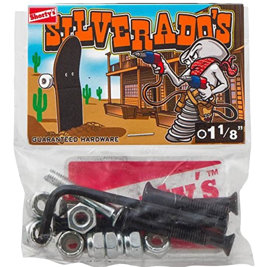 """Shorty's Hardware 1 1/8"""" Allen Silverados   Bolts by Shorty's 1"""