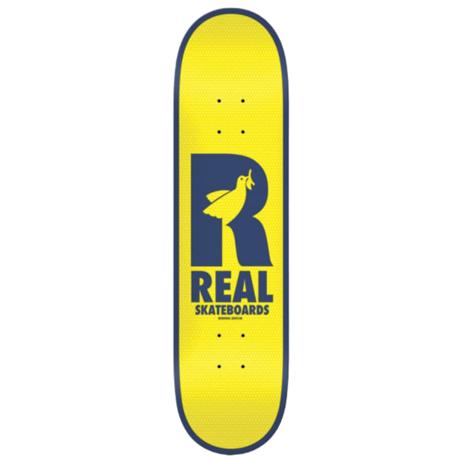 """Real Doves Renewal Deck 8.38""""   Deck by Real Skateboards 1"""