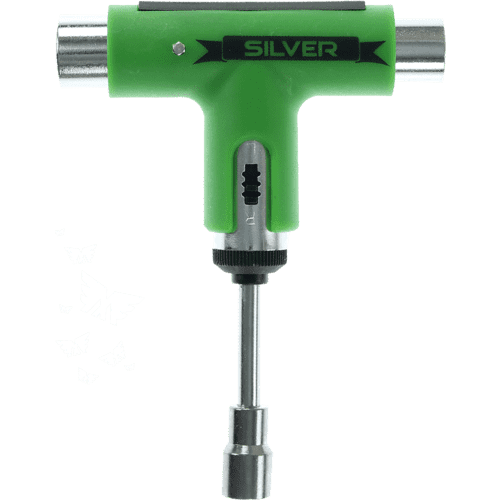Silver Premium Ratchet Skate Tool (Green)   Skate Tool by Silver 1