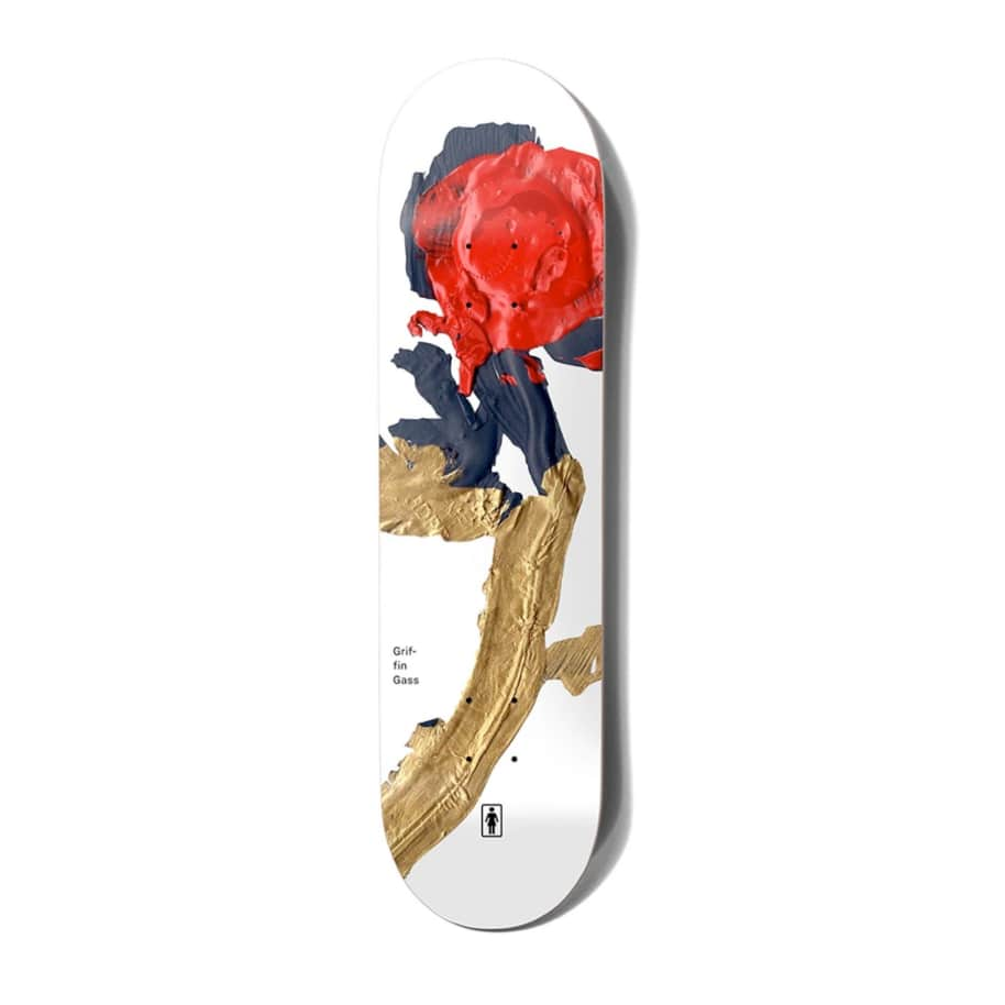 """Girl Skateboards Blooming Griffin Gas Deck 8.25"""" 