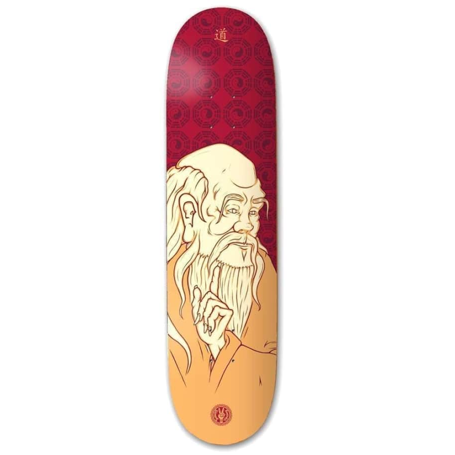 """The Drawing Boards Lao Tze Skateboard Deck 8.25"""" 