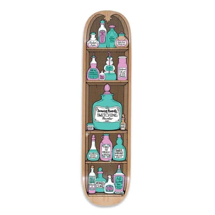 """The Drawing Boards Potions Skateboard Deck 8.25"""" 