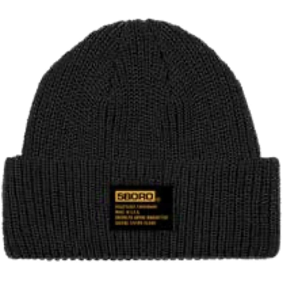 5Boro Skateboards Tactical Low Fit Beanie Black | Baseball Cap by 5Boro NYC 1