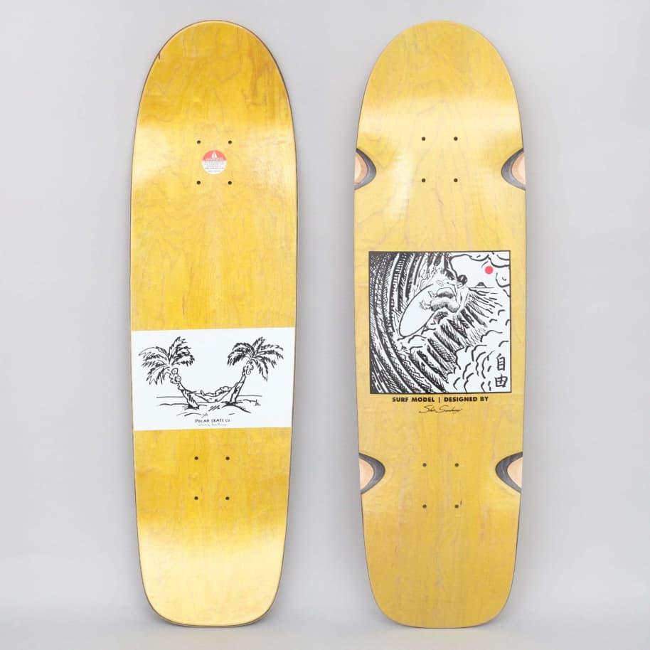 Polar 8.75 Shin Sanbongi Freedom Skateboard Deck Yellow | Deck by Polar Skate Co 1