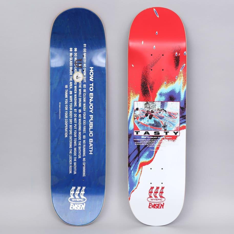 Evisen 8.125 Tasty Skateboard Deck   Deck by Evisen Skateboards 1