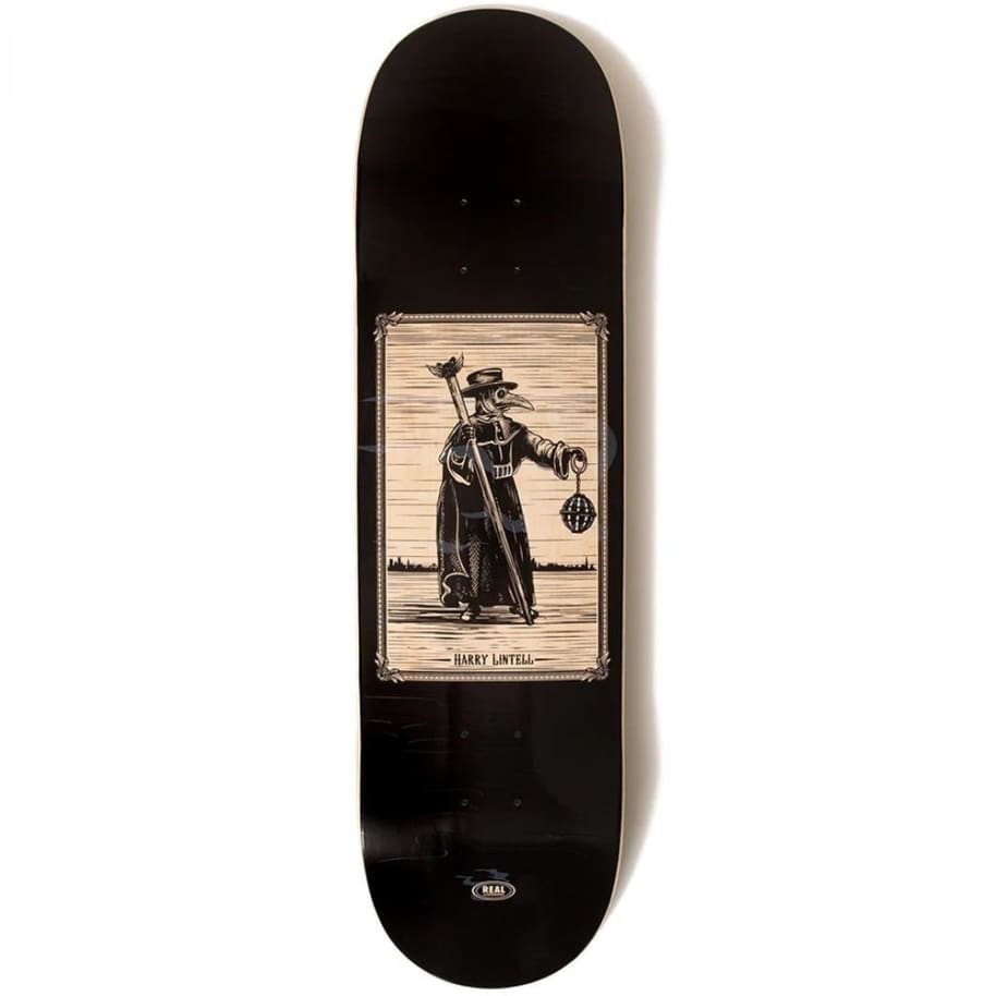 """Real Skateboards Harry Lintell Plague Doctor Pro Deck 8.5""""   Deck by Real Skateboards 1"""