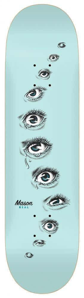 """Real Skateboards Mason Eyes Deck 8.28""""   Deck by Real Skateboards 1"""