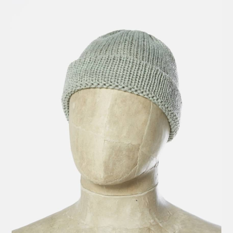 Universal Works Short Wacth Cap - Cool Green | Beanie by Universal Works 1