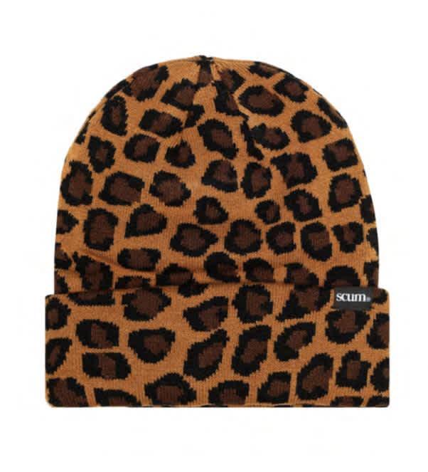 Scum - Beanie (leopard print) | Beanie by Fake Scum 1