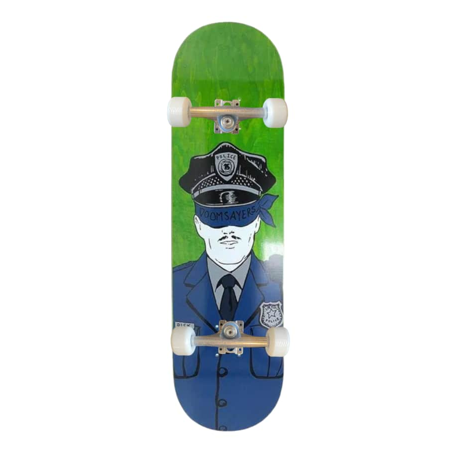 """Doom Sayers - Corp Cop Complete 8.5""""   Complete Skateboard by Doom Sayers Club 1"""