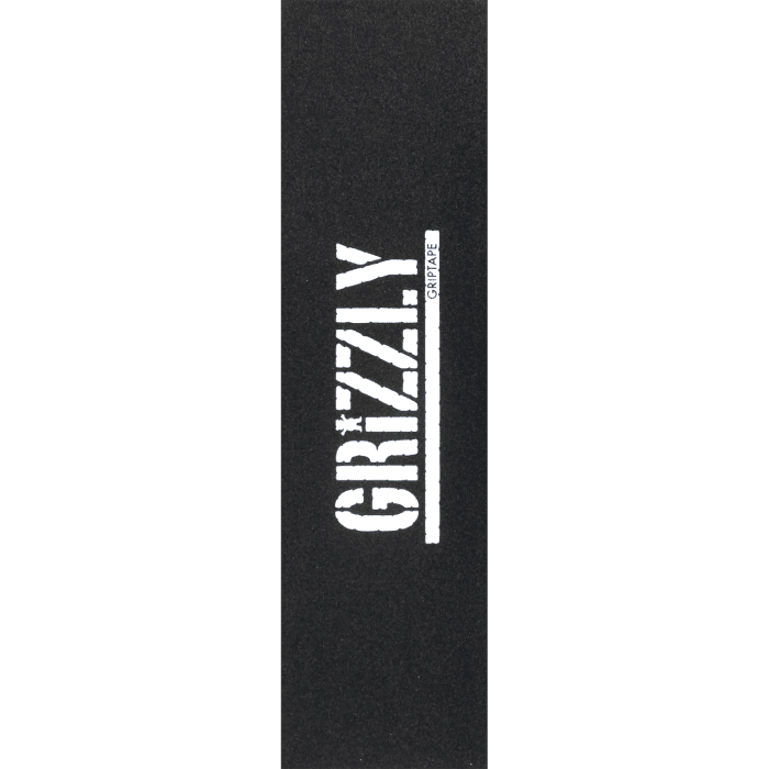 Grizzly Stamp Black/White Griptape 9x33 | Griptape by Grizzly Griptape 1
