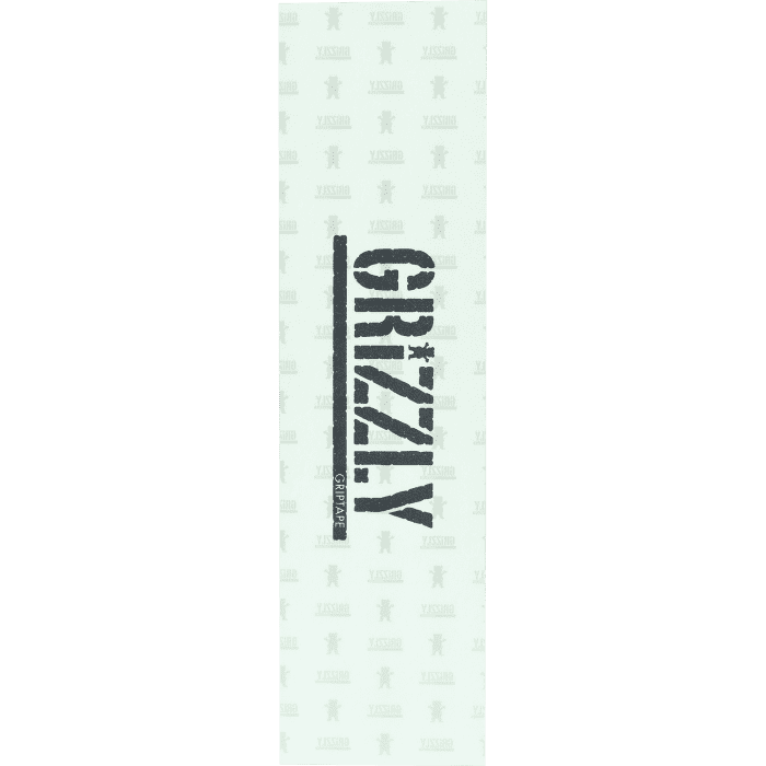 Grizzly Stamp Clear Griptape 9x33 | Griptape by Grizzly Griptape 1