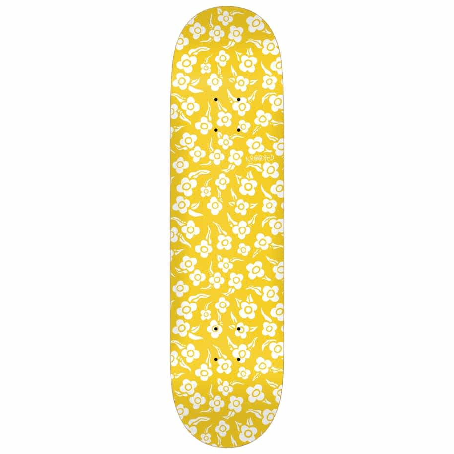 Krooked Flowers 8.5 Pricepoint   Deck by Krooked Skateboards 1