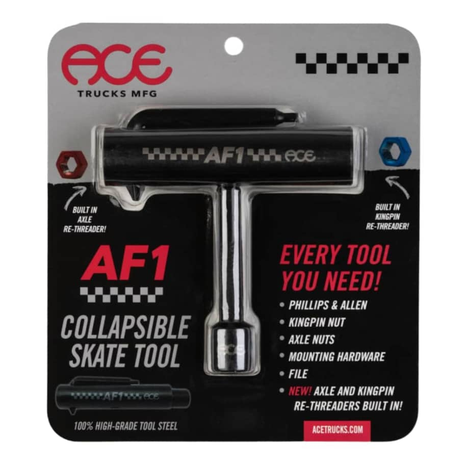 ACE AF1 Collapsible Skate Tool with rethreader | Skate Tool by Ace Trucks MFG 1