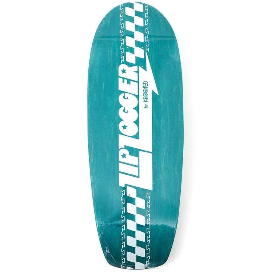 Krooked Zipzogger 10.75 Assorted Veneer Deck | Cruiser Deck by Krooked Skateboards 1