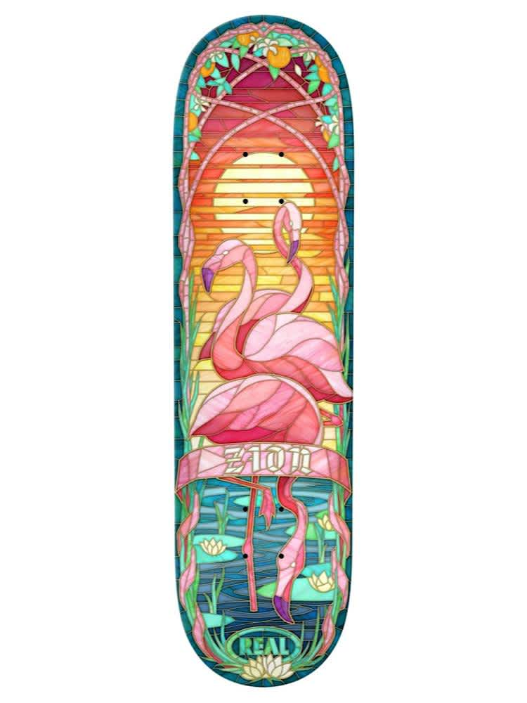 Real Zion Cathedral 8.5 Deck   Deck by Real Skateboards 1