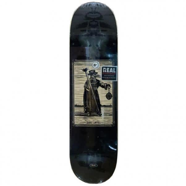 REAL Harry Lintell One Off Pro 8.5 Skateboard Deck   Deck by Real Skateboards 1