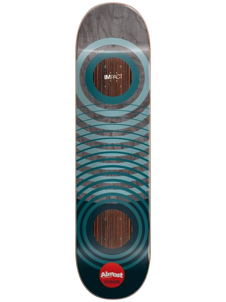 ALMOST Youness Natural Rings Impact 8.25 Skateboard Deck | Deck by Almost Skateboards 1