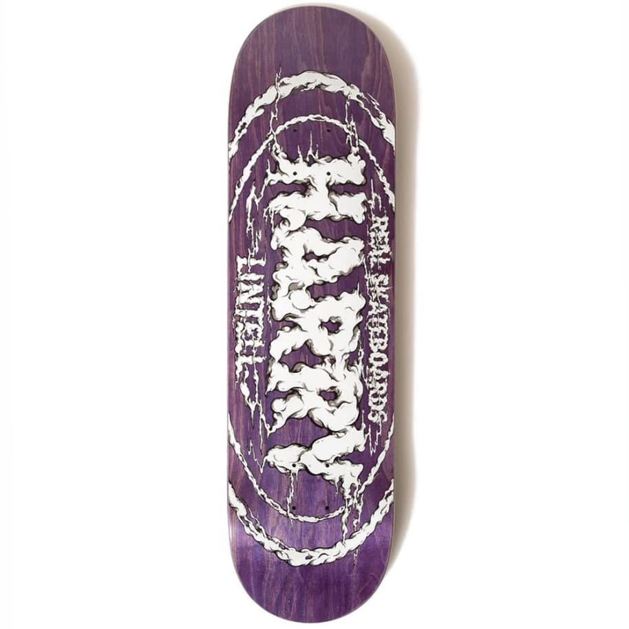 """Real Skateboards - Real - Harry Lintell Pro Oval deck - 8.28""""   Deck by Real Skateboards 1"""