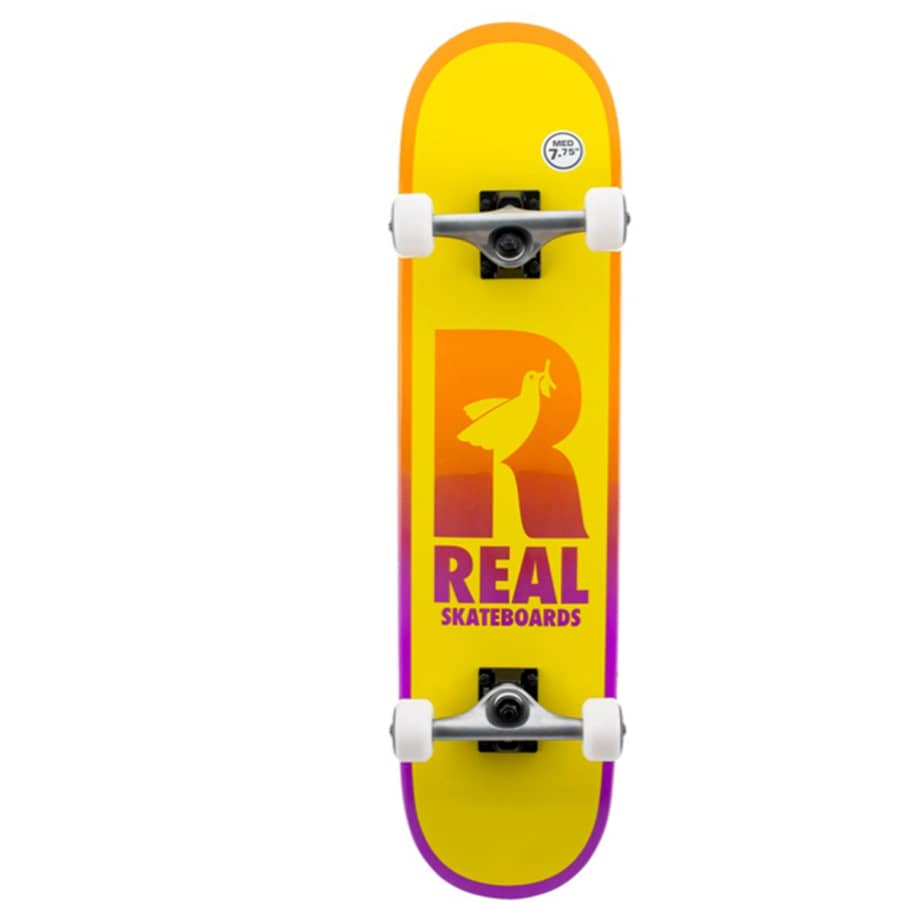 """Real Complete - Be Free 7.75""""   Complete Skateboard by Real Skateboards 1"""