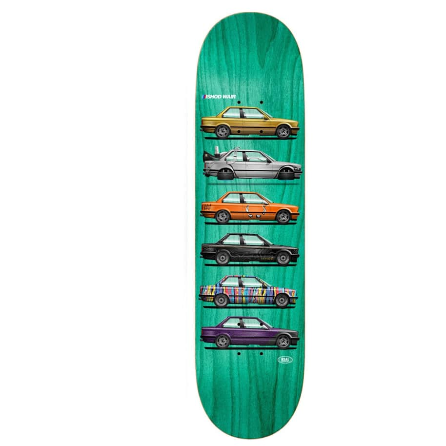 """Real Deck - Ishod Wair Customs Twin Tail 8.38"""" Slick 