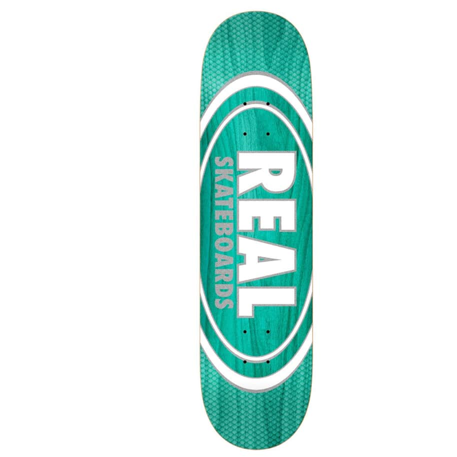 """Real Deck - Oval Pearl Patterns Slick 8.25"""" 