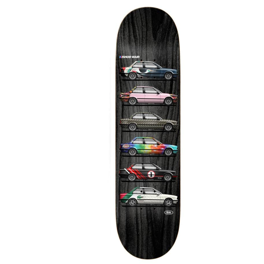 """Real Deck - Ishod Wair Customs Twin Tail 8"""" 