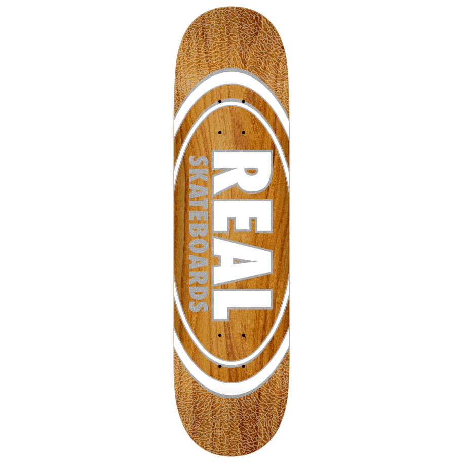Real Skateboards Oval Pearlescent Pattern Deck 8.38 | Deck by Real Skateboards 1