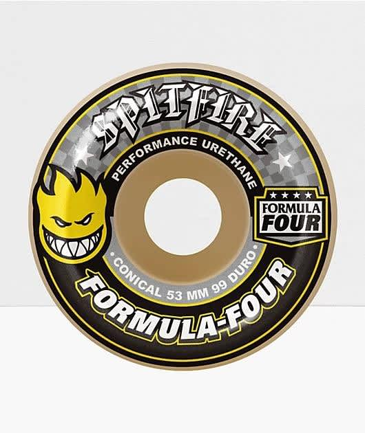 Spitfire - F4 99 Conical Full 53mm   Wheels by Spitfire Wheels 1